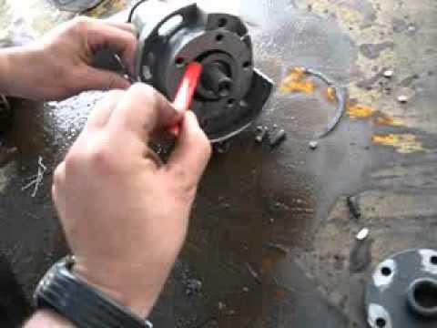 Desmontaje Compresor Rotativo De Aire Acondicionado Youtube