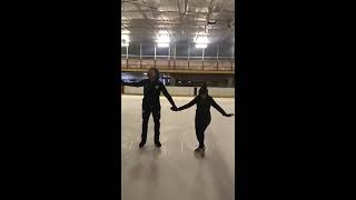 Ryan Sidebottom falling over while training for dancing on ice 2019