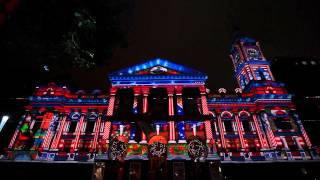 Melbourne Town Hall Christmas Projections 2014 | City Of Melbourne