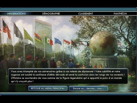 [WR] Speedrun Civilization 5 : Diplomatic Victory (6m40s)