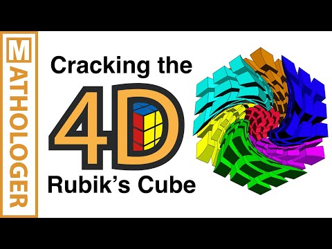 Cracking the 4D Rubik's Cube with simple 3D tricks