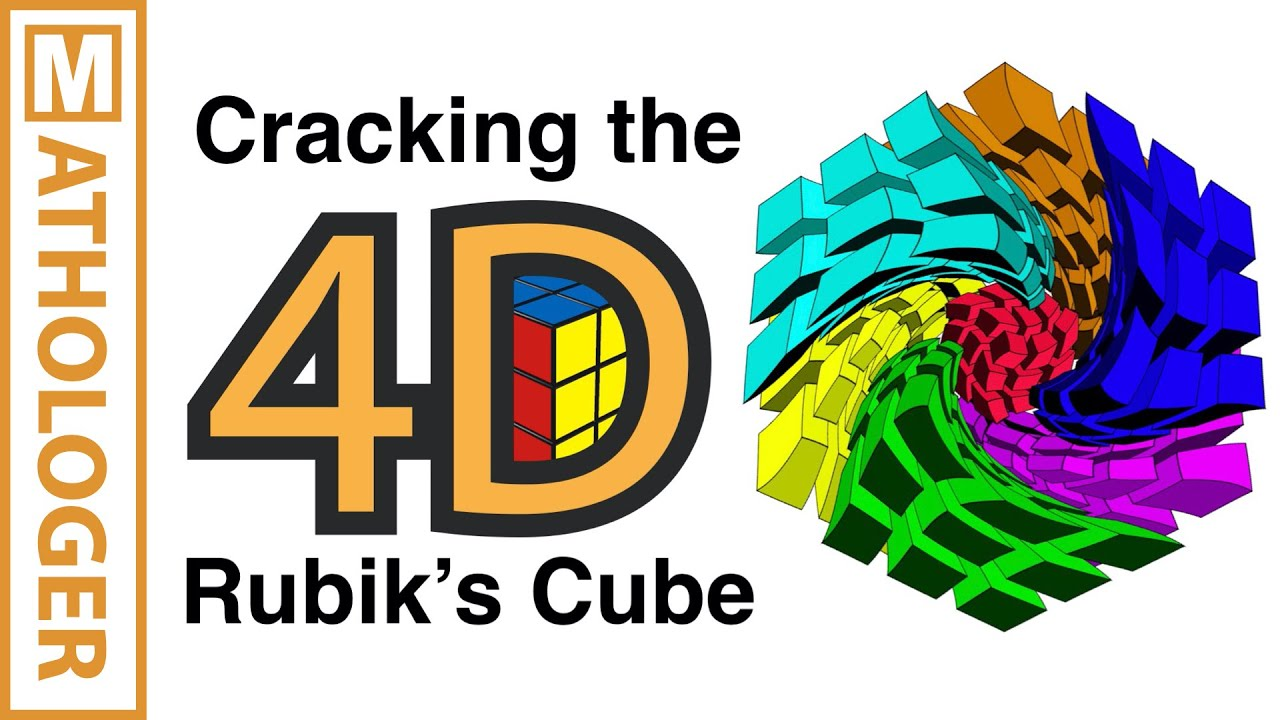 cracking the 4d rubik s cube with simple 3d tricks youtube