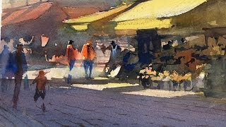 """Advancing with Watercolor: Color: Creating Luminosity """"Jaune Brilliant"""""""