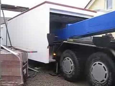 betongarage hausbau 2013 lieferung 2 beton garage preis