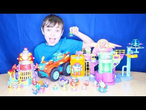 Superzings Series 2 | Playsets | Splat Kids TV