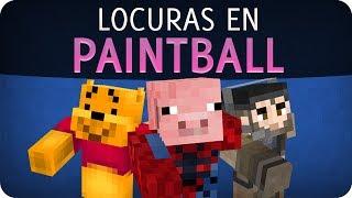 Locuras en paintball con Gona y Luh |  Soy una Manca | Minecraft