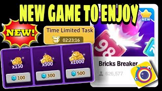 HOW TO PLAY BRICKS BREAKER || NEWEST GAME IN CLIPCLAPS
