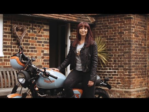 Triumph and DGR 2019 - Ride for the people you love - Ina Lombard