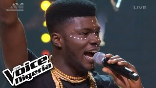"david operah sings ""lady"" live show the voice nigeria 2016"