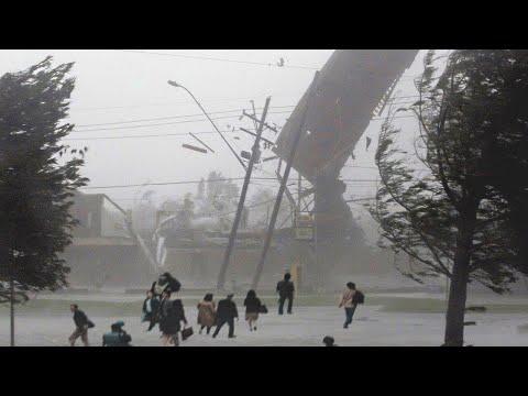 Russia is under ATTACK! 📢 Strong Hurricane wind in Shagonar, Tuva Republic.