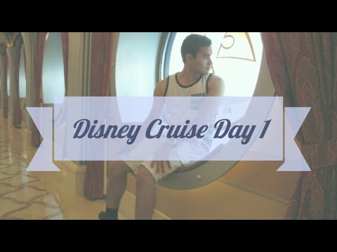Disney Dream Cruise Diary - Day 1: On Board!