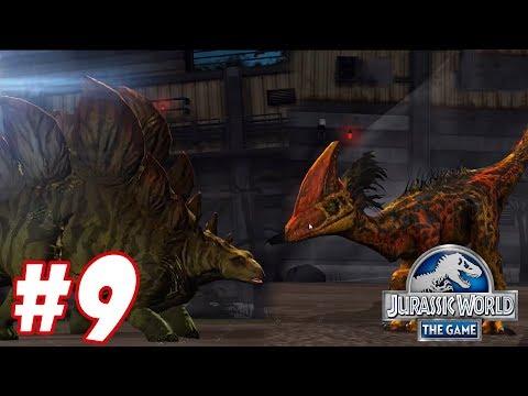 STEGOSAURUS vs HATZEGOPTERYX : Trò chơi nuôi khủng long đánh nhau - Jurassic World The Game #8
