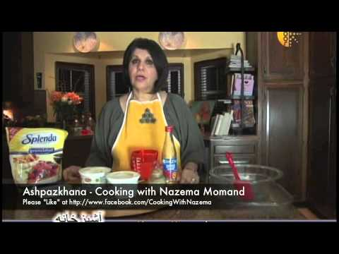 Ashpazkhana - Cooking with Nazema Momand - Salmon w/white sauce, Asparagus and Ras Malai