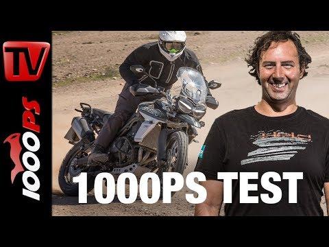 1000PS Test - Triumph Tiger 800 2018 - Mehr geht kaum in dieser Klasse!