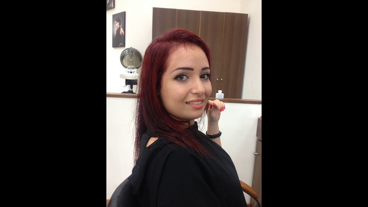 Cheveux ma coloration rouge ile maurice youtube - Coloration rouge cerise ...
