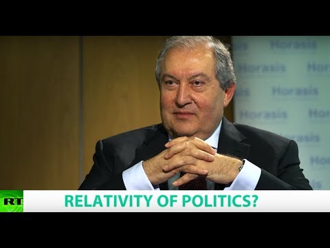 RELATIVITY OF POLITICS? Ft. Armen Sarkissian, President Of Armenia