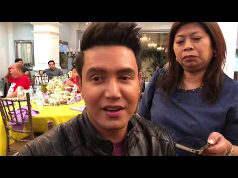 Confirmed! Paolo Ballesteros has been a Maricelian, Noranian & Reginian since he was a kid