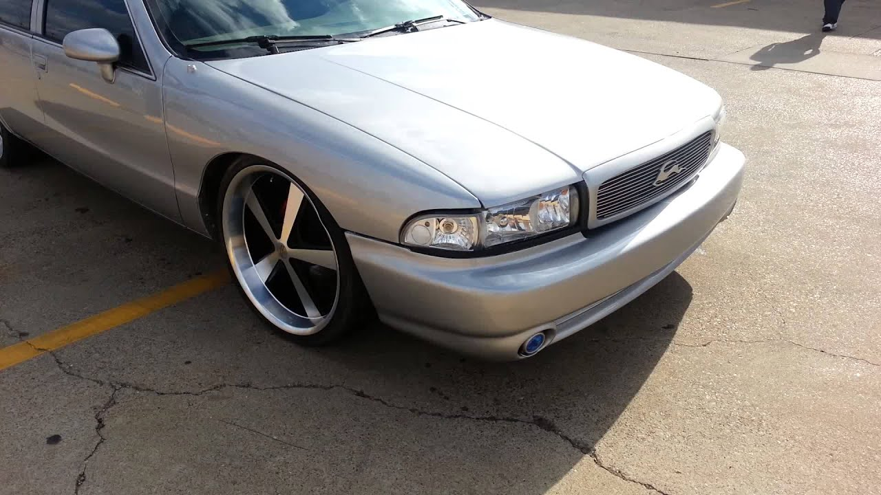 94 Impala Ss On Kmc Nova S Youtube