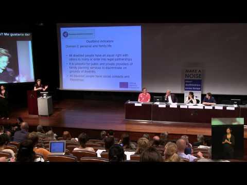 Europ. Conf. on Deafblindness. III. Indicators & Domains. Sonja van de Molengraft (English)