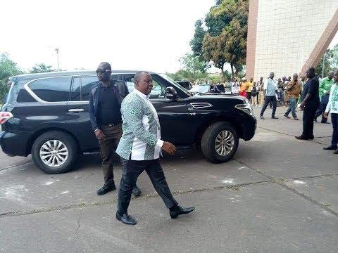 Le  ministre Kobenan Kouassi Adjoumani hué par les militants du PDCI à Daoukro