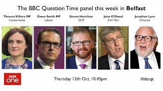 Question Time 12/10/17: Abortion, Brexit, Bombardier and Weinstein
