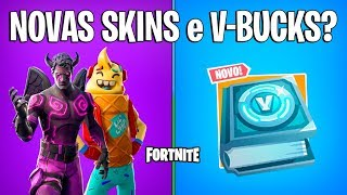 FORTNITE-NEW SKINS, ITEMS and CHALLENGES V-BUCKS? -Patch 7.4