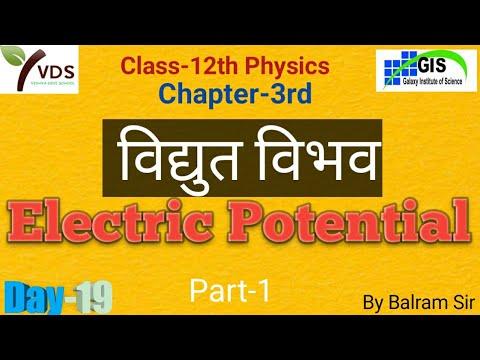 Physics   Electric Potential   विद्युत विभव L