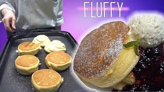FLUFFY Pancakes in Japan & American Airlines PREMIUM Economy Food Review