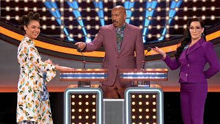 Michelle Visage and Aisha Dee Give Great Answers - Celebrity Family Feud
