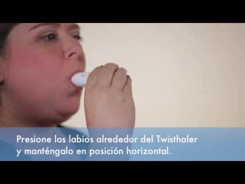 Cómo usar un Twisthaler®