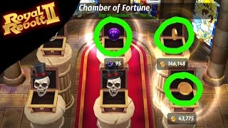 ROYAL REVOLT 2 - HOW TO OPEN 3 CHESTS WITHOUT GEMS!!