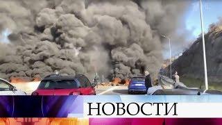 Не менее 50 человек пострадали в Каталонии в результате столкновений с полицией и беспорядков.