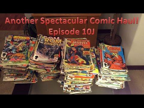 Craigslist Comic Book Haul 10J (Super Spectacular Conclusion!)