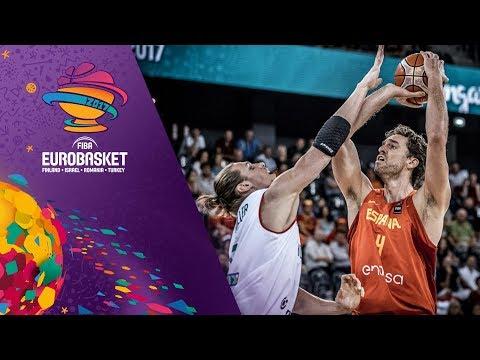 Pau Gasol (20pts, 8reb.) makes FIBA EuroBasket history!