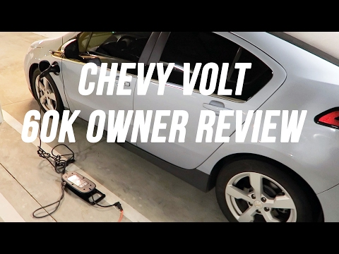 CHEVY VOLT REVIEW 60K MILES