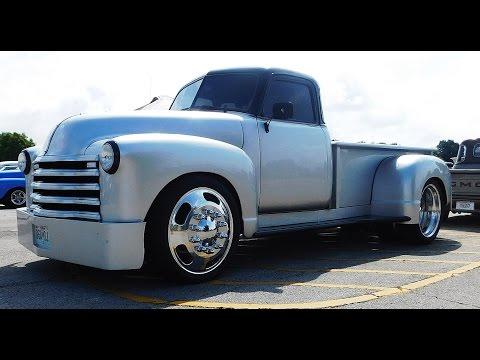 1953 Chevrolet Pickup Custom 2016 NSRA Street Rod Nationals