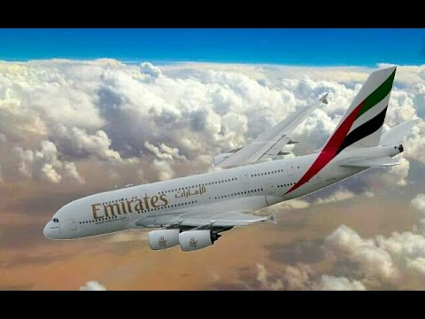 Emirates Airline Flight Hit Crash Simulation