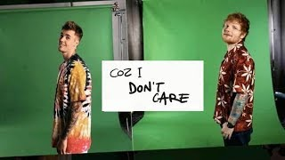 Ed Sheeran - I Don't Care  Ft. Justin Bieber | 3D version | Lyrics
