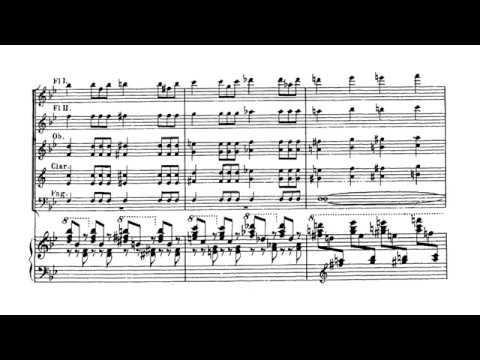 Piano Concerto No 1 In B Flat Minor First Movement Allegro Tchaikovsky Score Youtube