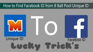 How to get the Facebook link using  8 Ball pool unique id