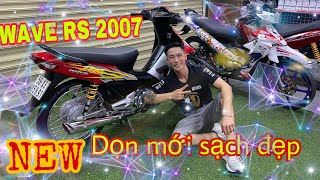 Đông Nghi | Hồi sinh một huyền thoại WAVE RS 2007 - Từ cũ đến mới | Đông Nghi Racing