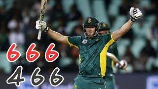 David Miller 34 Runs in 1 Over in Cricket || 6 6 6 4 6 6