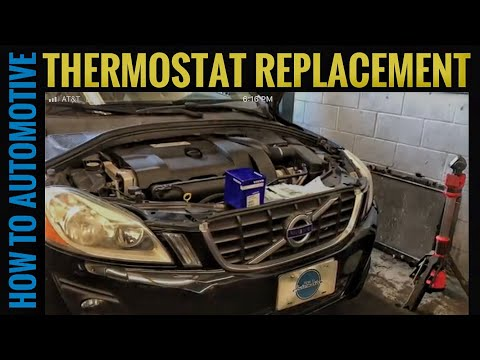 How to Replace the Thermostat on a First Generation Volvo XC60 and XC90 with 3.0T and 3.2L Engine