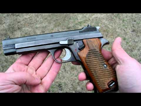 Shooting: SIG P210-1 - a Swiss legend in 9mm