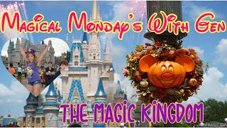 🔴LIVE.Magical Monday with Gen! The Magic Kingdom. Fall is Here! 🎃 Halloween is Starting Now!
