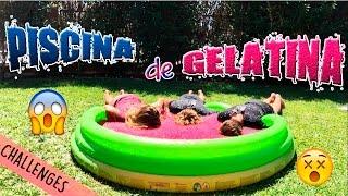 ¡Nos bañamos en gelatina! || Trillizos0201