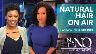 TV reporters talk about going natural on air