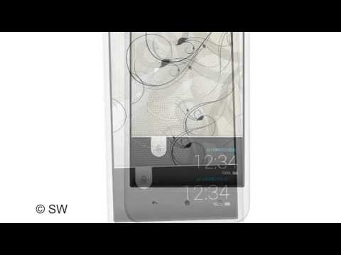 Sharp Aquos Phone Serie SHL22 with Android 42 Os and 4 9 inch IGZO display
