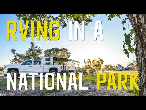 OUR FIRST NATIONAL PARK in the RV   THE EVERGLADES - S1    Ep5