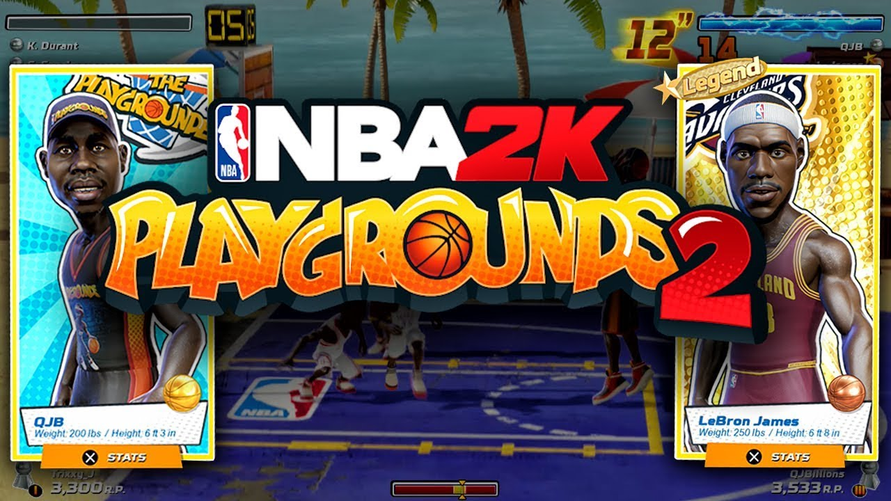 Nba 2k Playgrounds 2 Coming October 16: NBA 2K PLAYGROUNDS 2 ANNOUNCED! RELEASE DATE FALL 2018